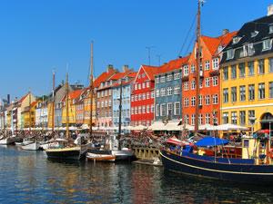 Nyhaven harbor, Copenhagen
